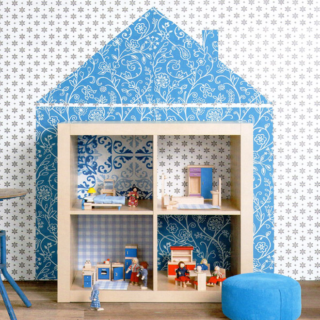 doll houses made from IKEA Furniture