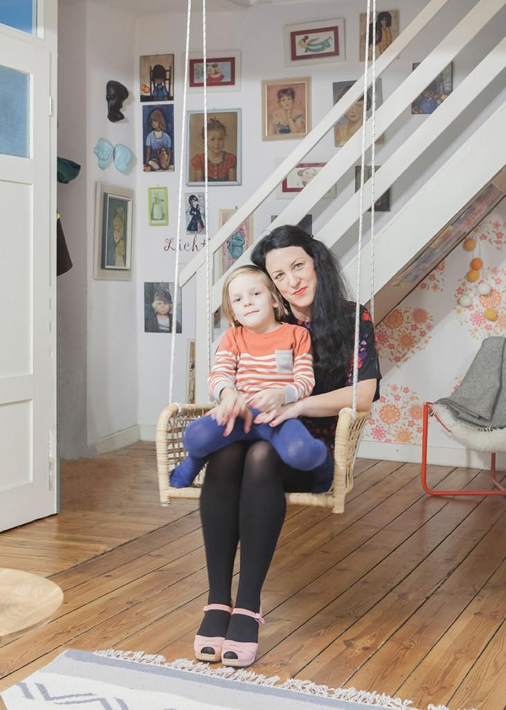 At home with Julia Ballmaier