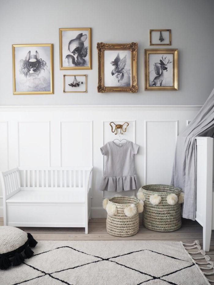 Scandinavian children's rooms