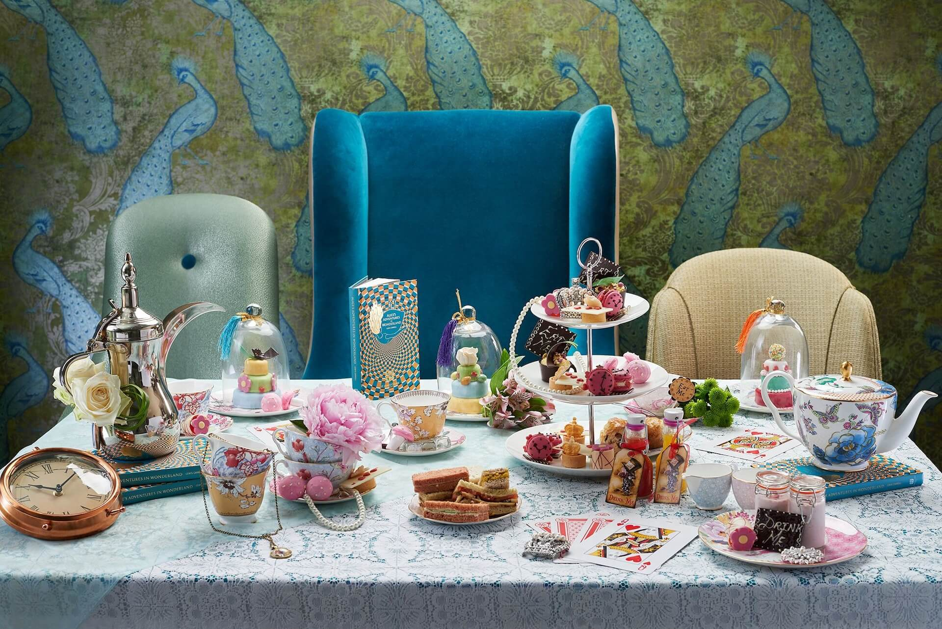 St James's Court, A Taj Hotel Serves an Alice in Wonderland themed tea