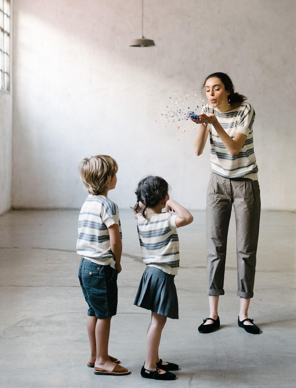 Counting Clouds Let's dance SS18 knitted clothes for kids