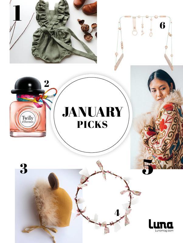 Lunamag's January picks