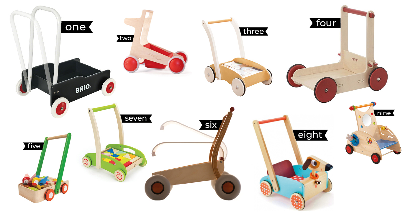 The best wooden baby walkers