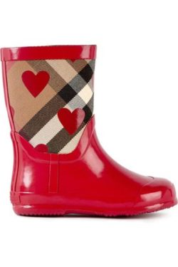 5. Rain boots from Burberry.