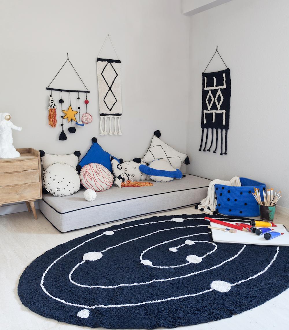 Lorena Canals washable rug milky way
