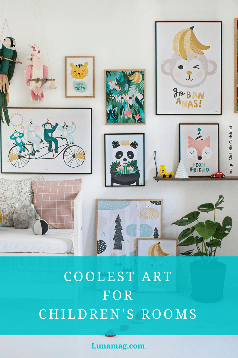 Coolest art for children's rooms