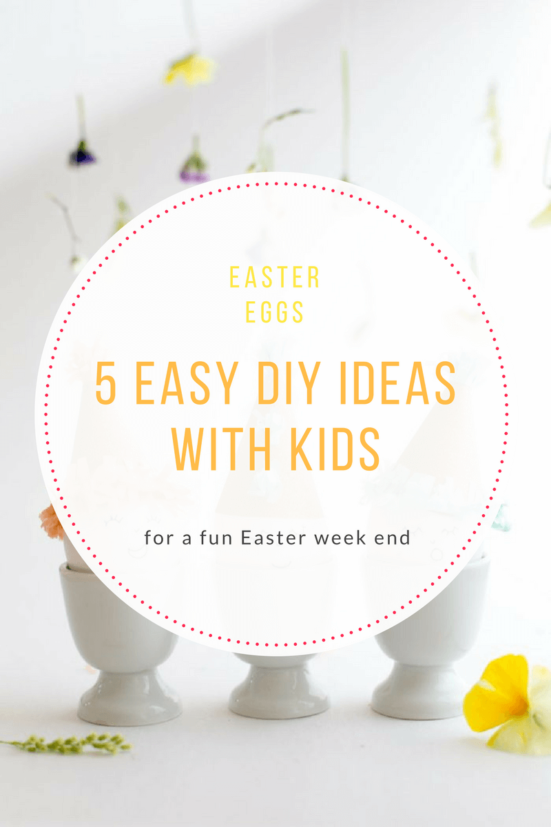 easy Easter egg DIY ideas