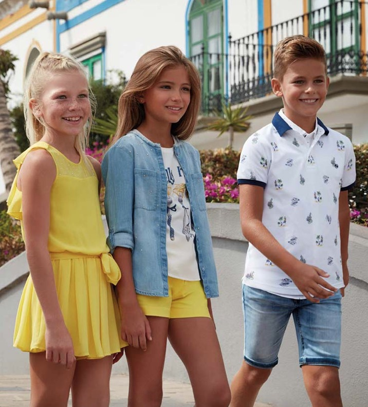 Mayoral SS18 kids fashion boys and girls