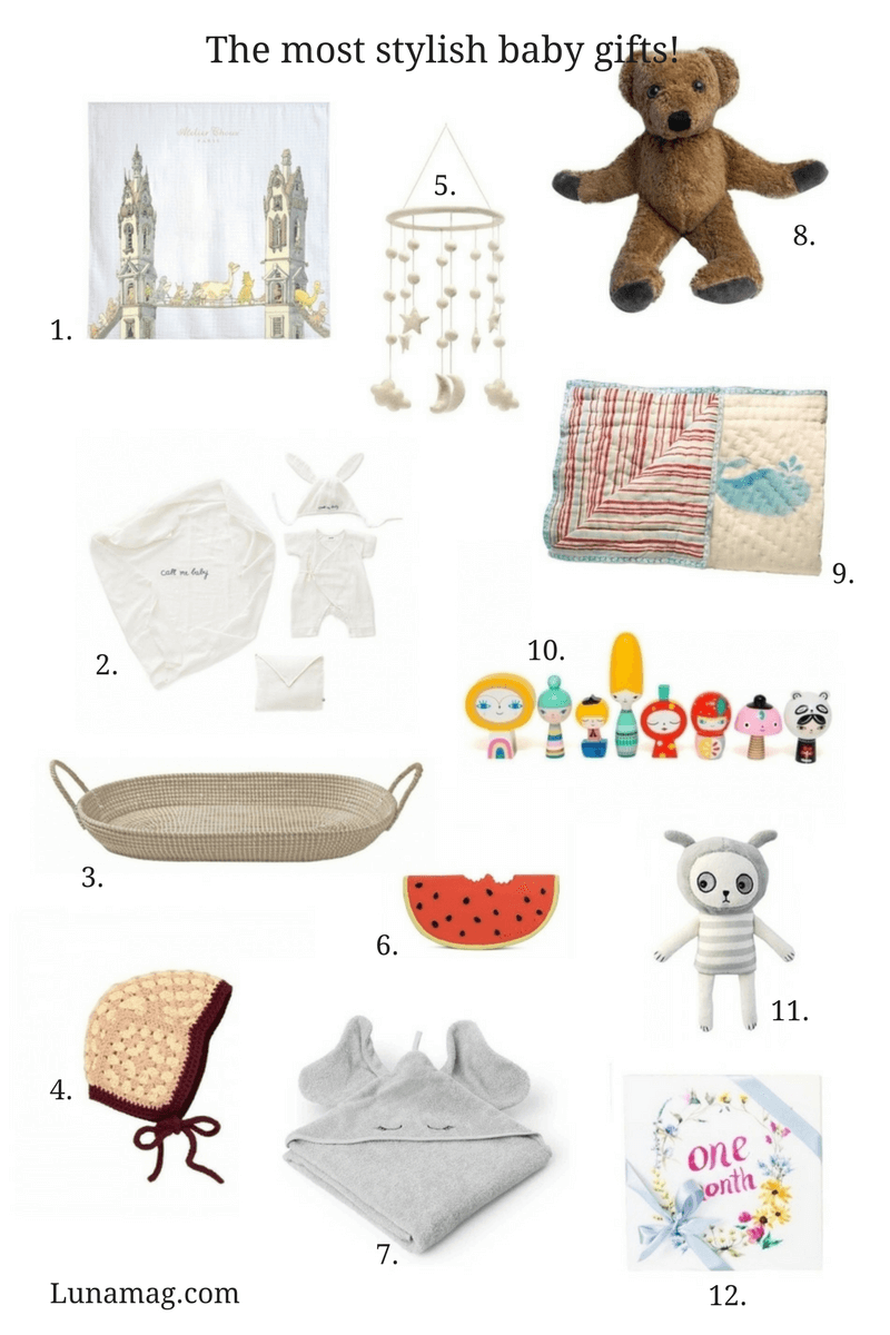 The most stylish baby gifts!