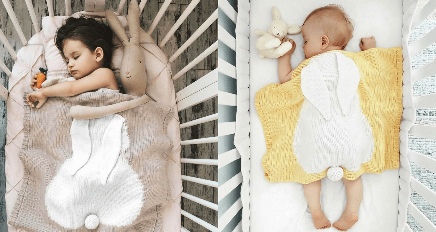bunny blanket baby