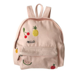 5. Embroidered Fruit Canvas Backpack from Emile et Ida.