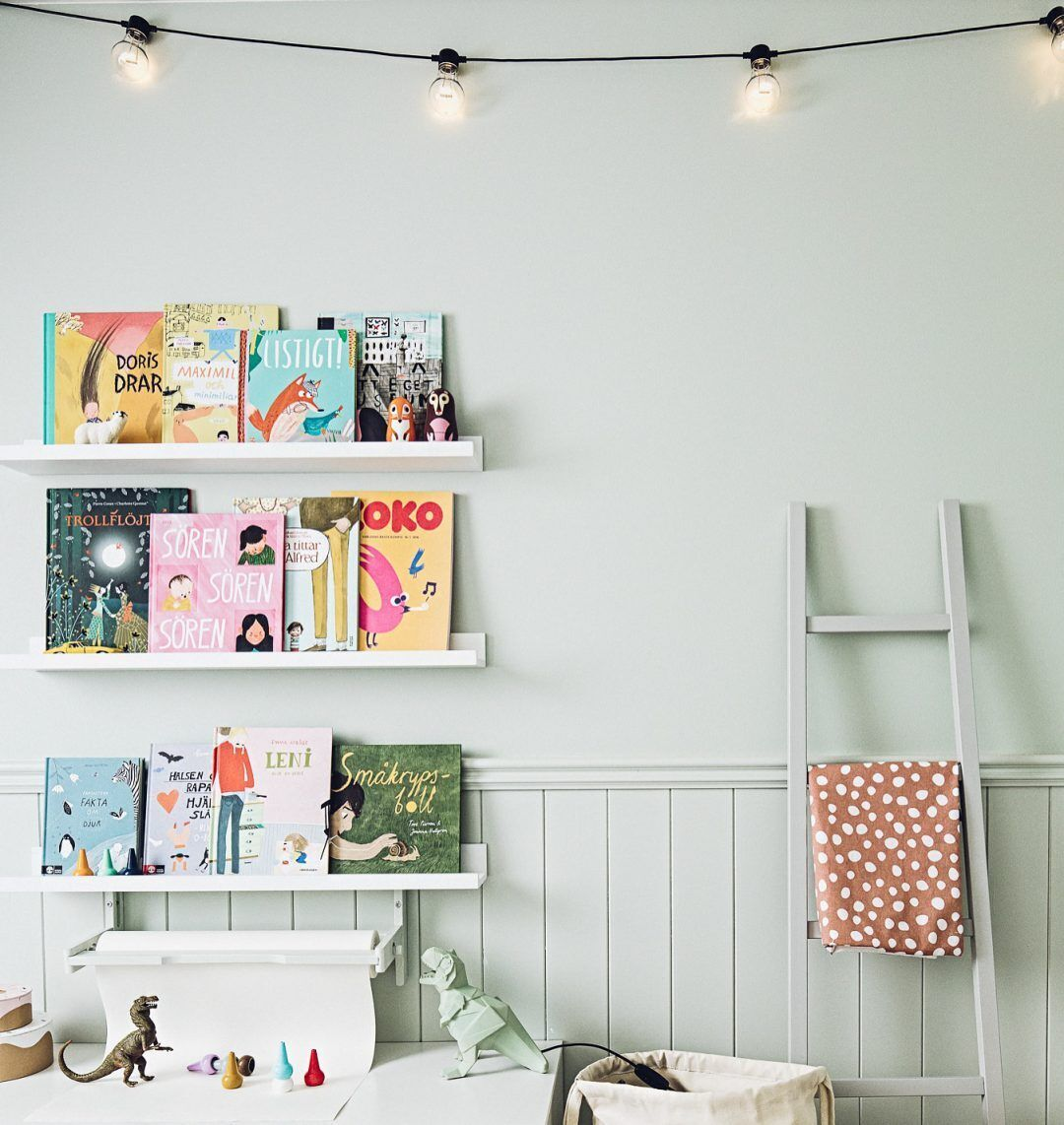 Storage for kids' rooms