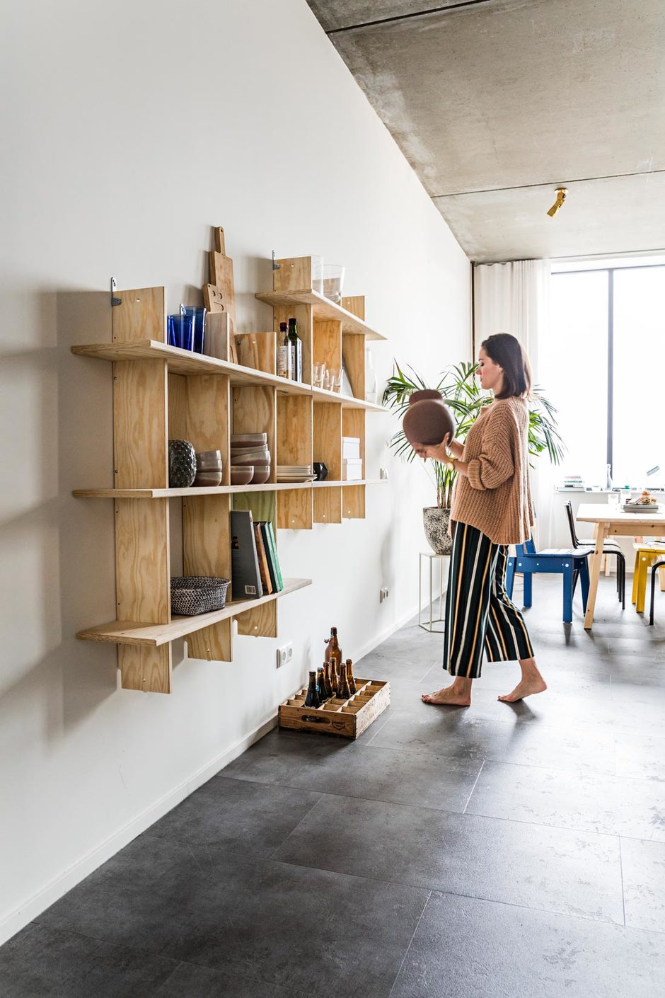 Industrial furniture for your family home