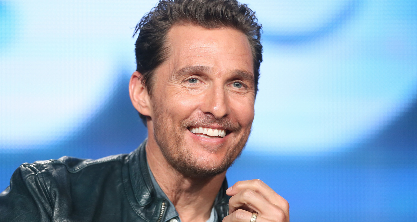 Our dad crush this week: Matthew Mcconaughey