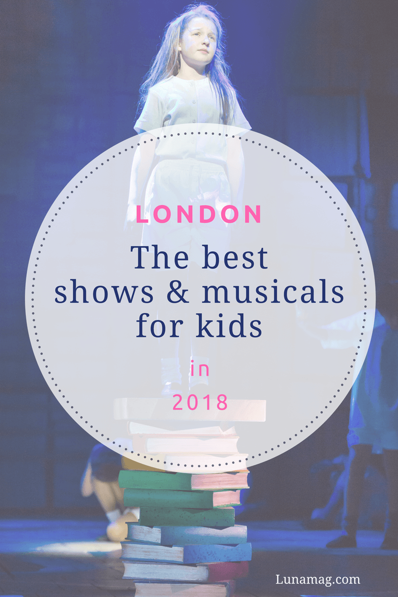 Top London shows and musicals for kids in 2018