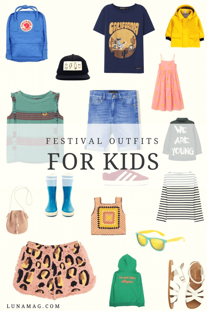 perfect festival outfits for the kids