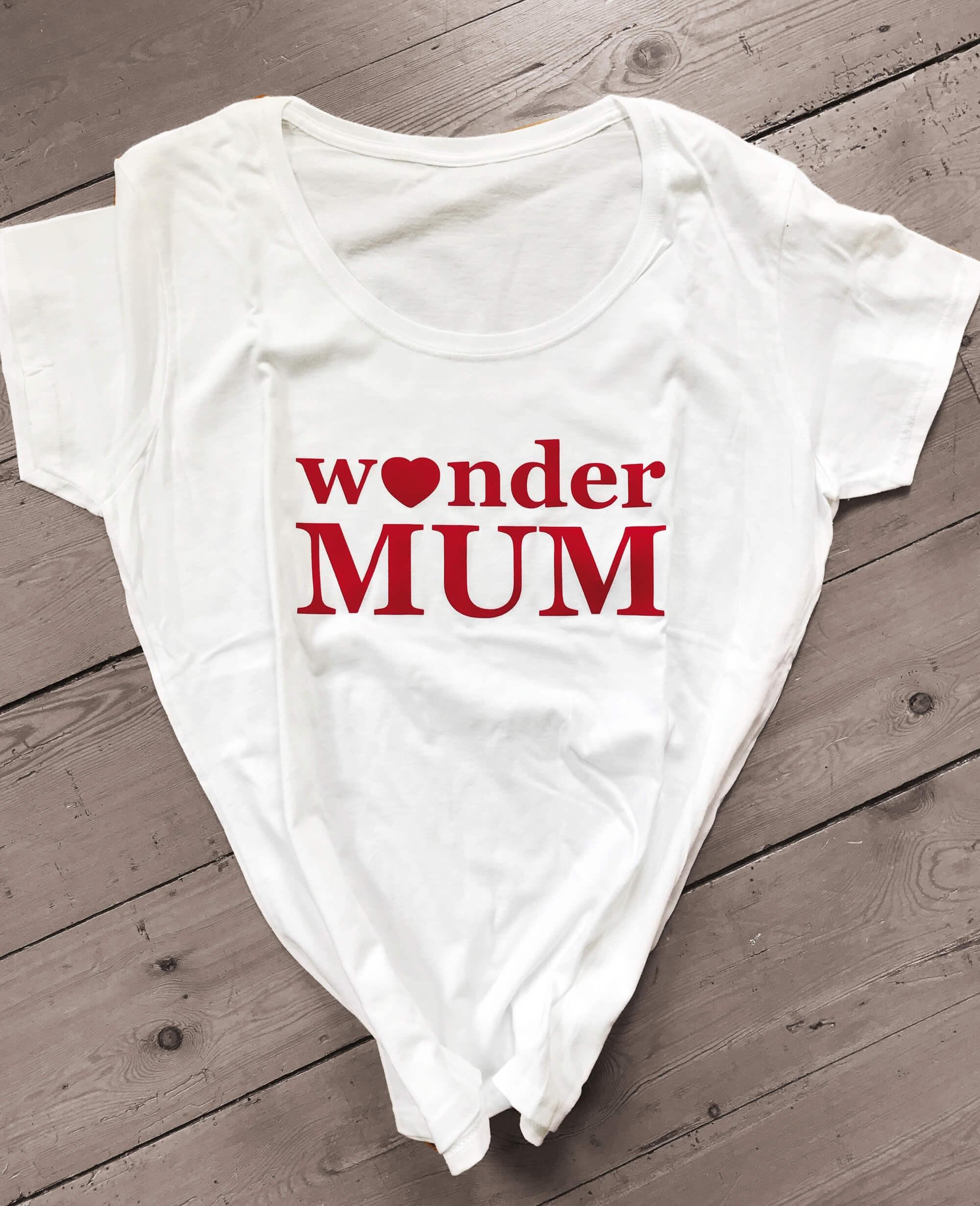 wonder mum shirt