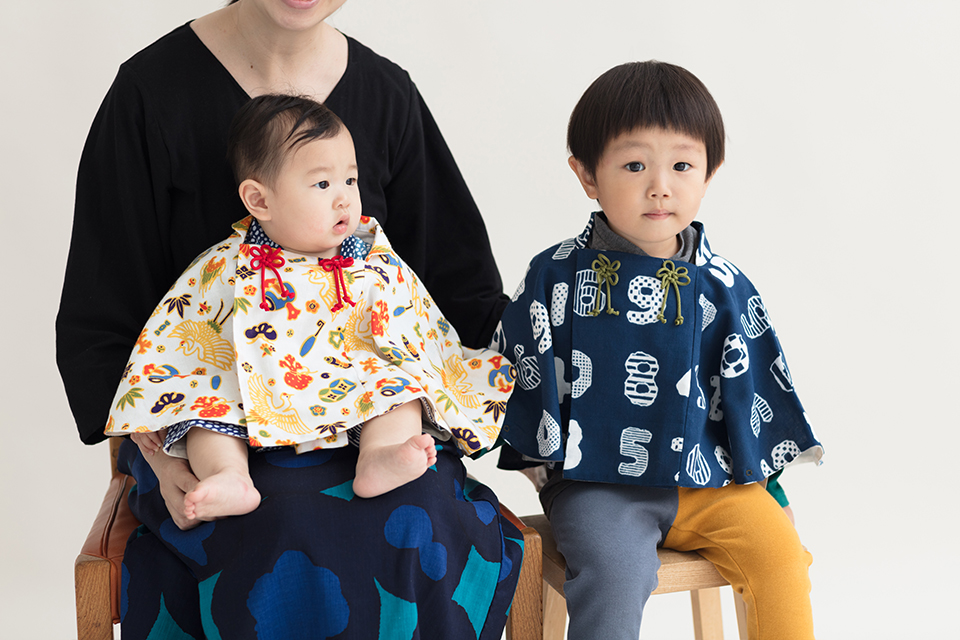 Japan Kids Fashion Sou Sou Kyoto haori coat