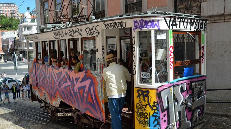 Lisbon Tram city break with kids