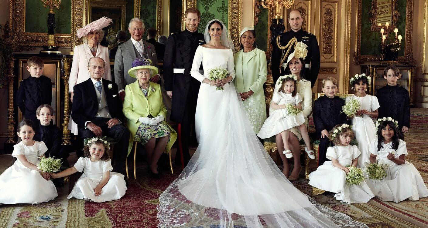 Official Royal Wedding photos and the kids steal the show
