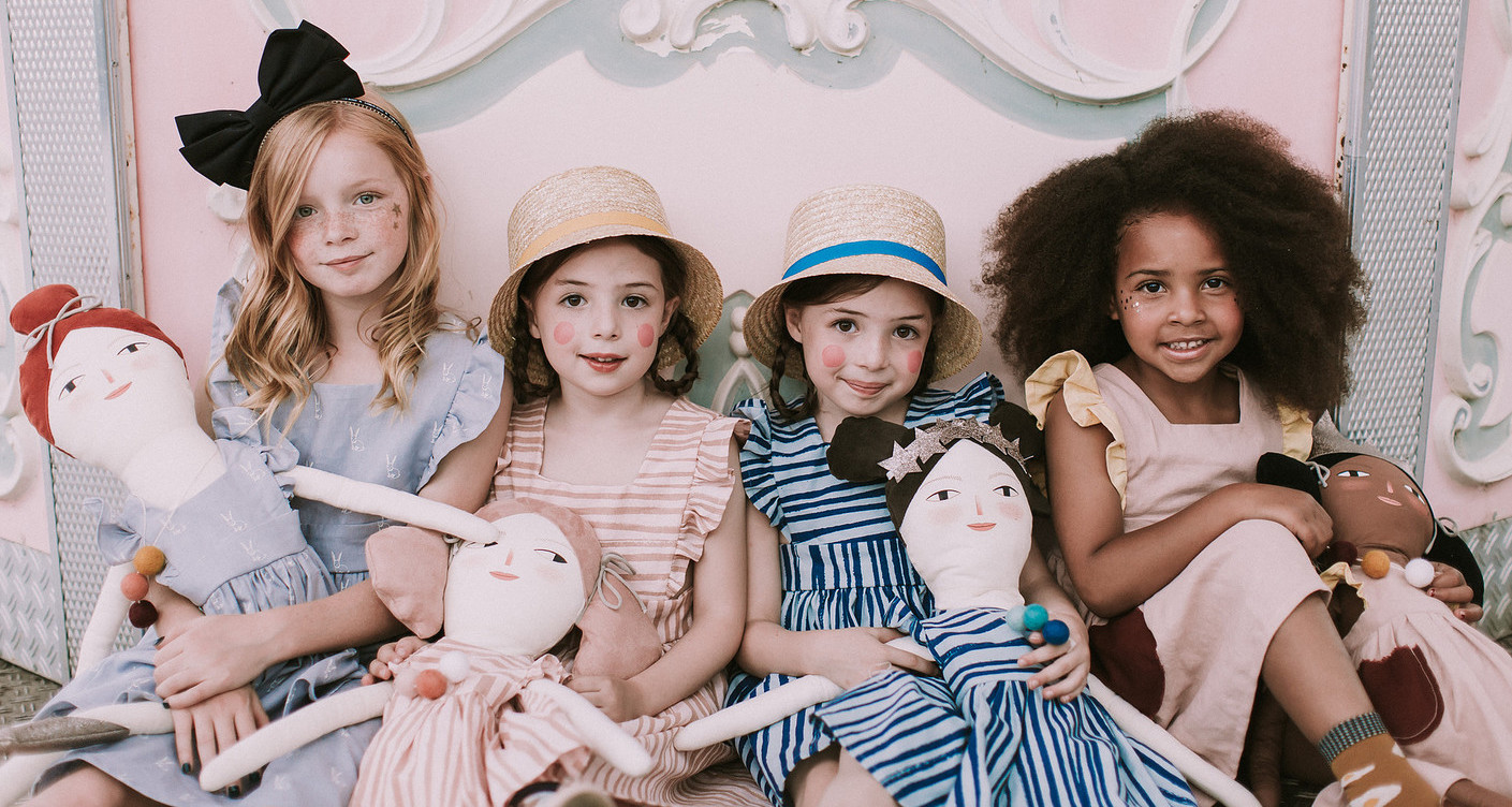 The most gorgeous rag dolls for kids