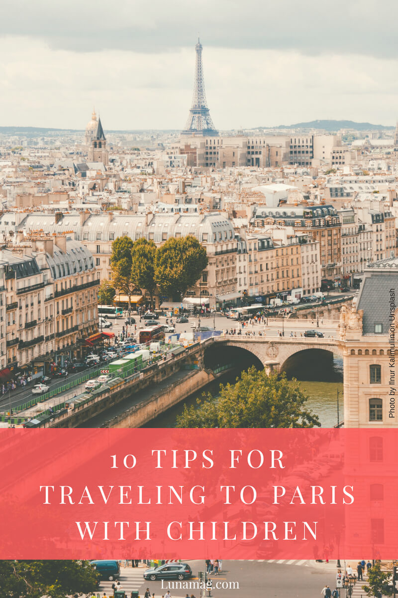 10 tips for traveling to Paris with children