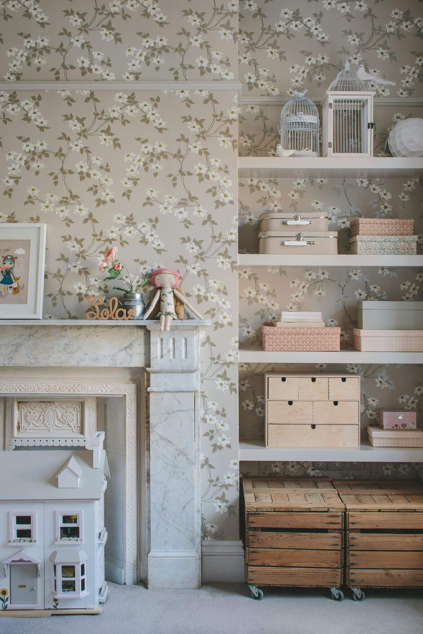 Choosing colour for kids' rooms
