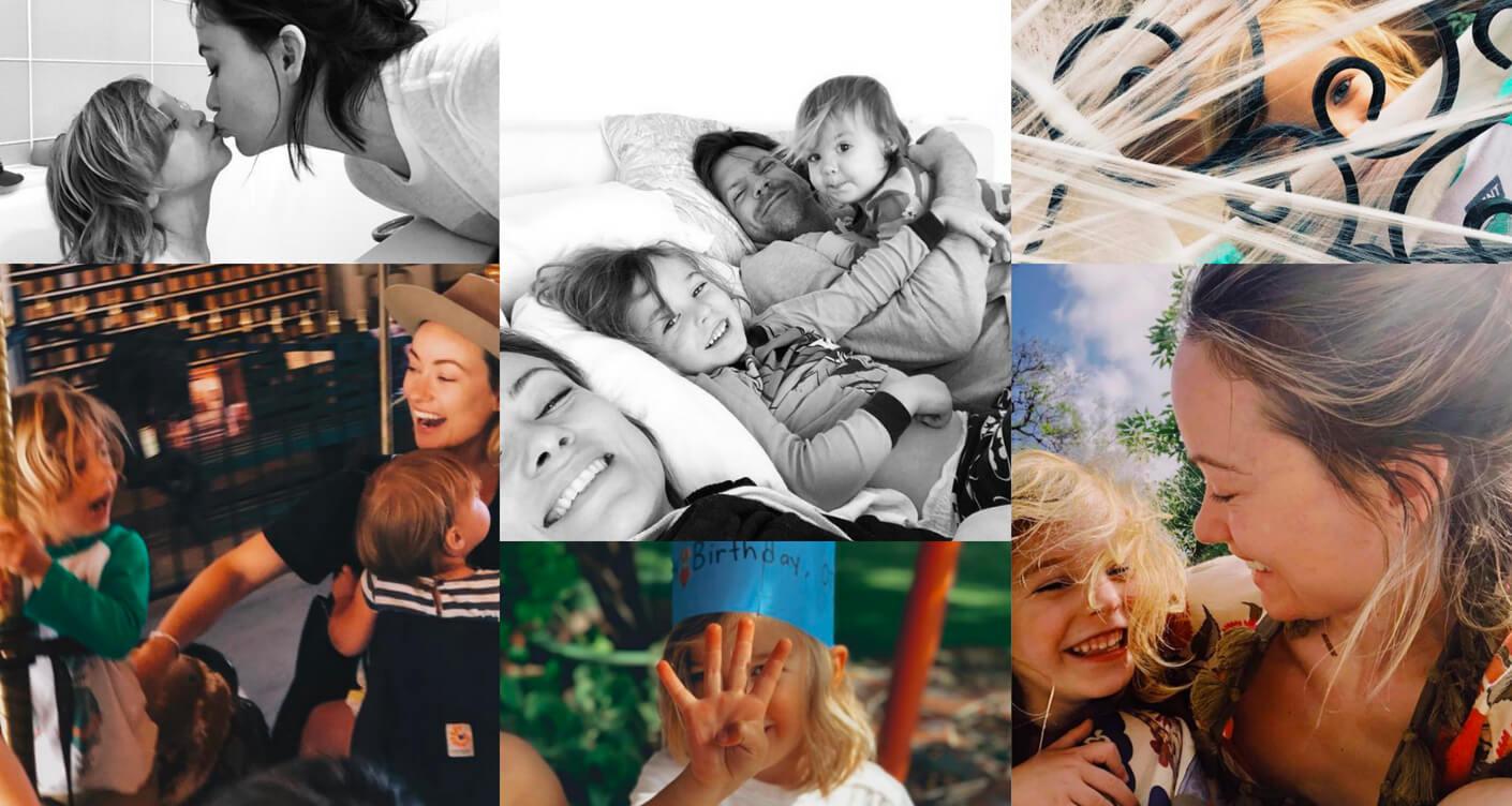 Olivia Wilde on motherhood