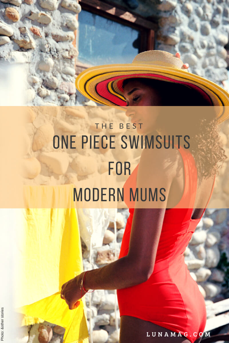 The best one piece swimsuits for modern mums!4