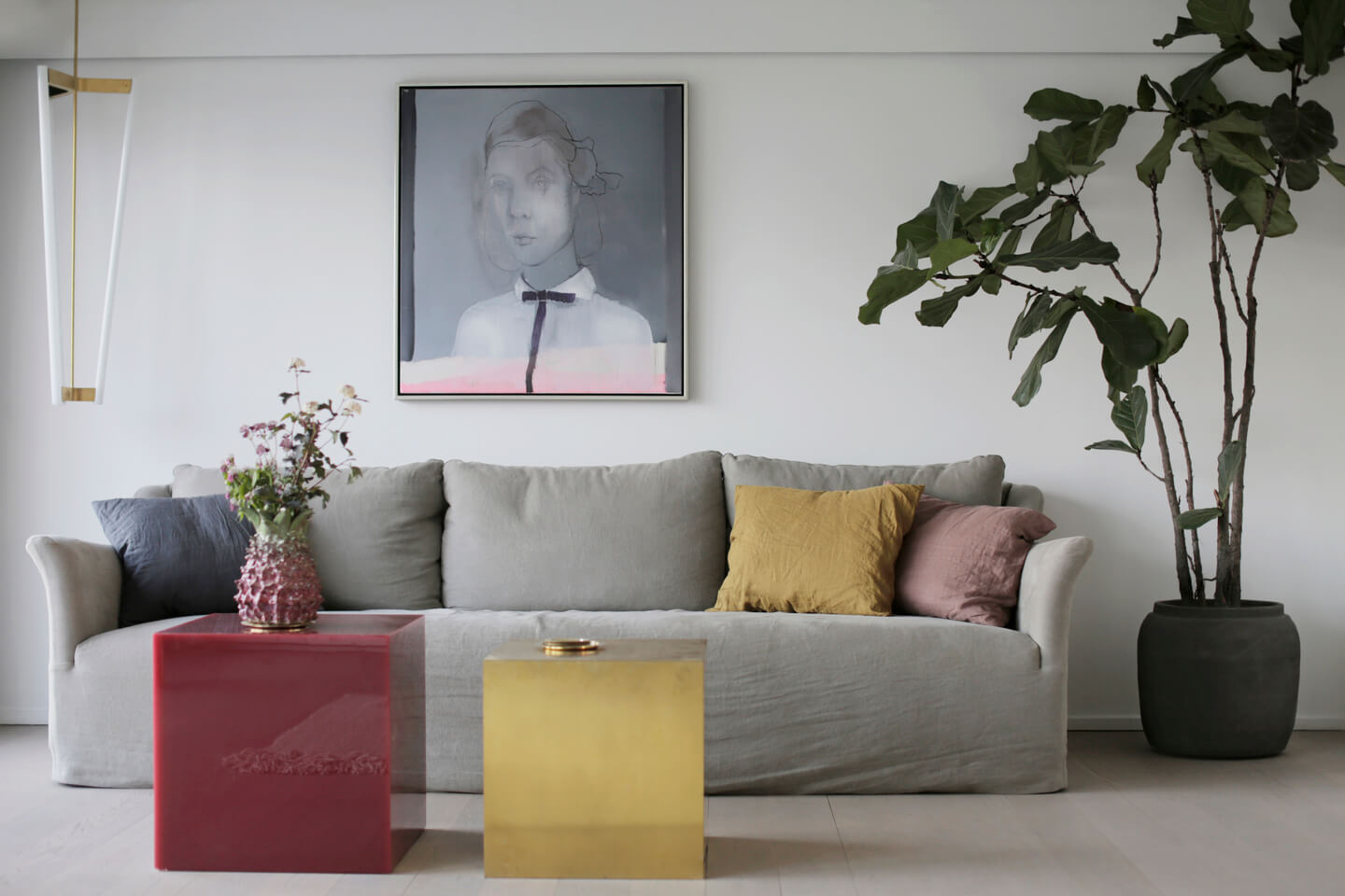 At home with Tine Holt Møller