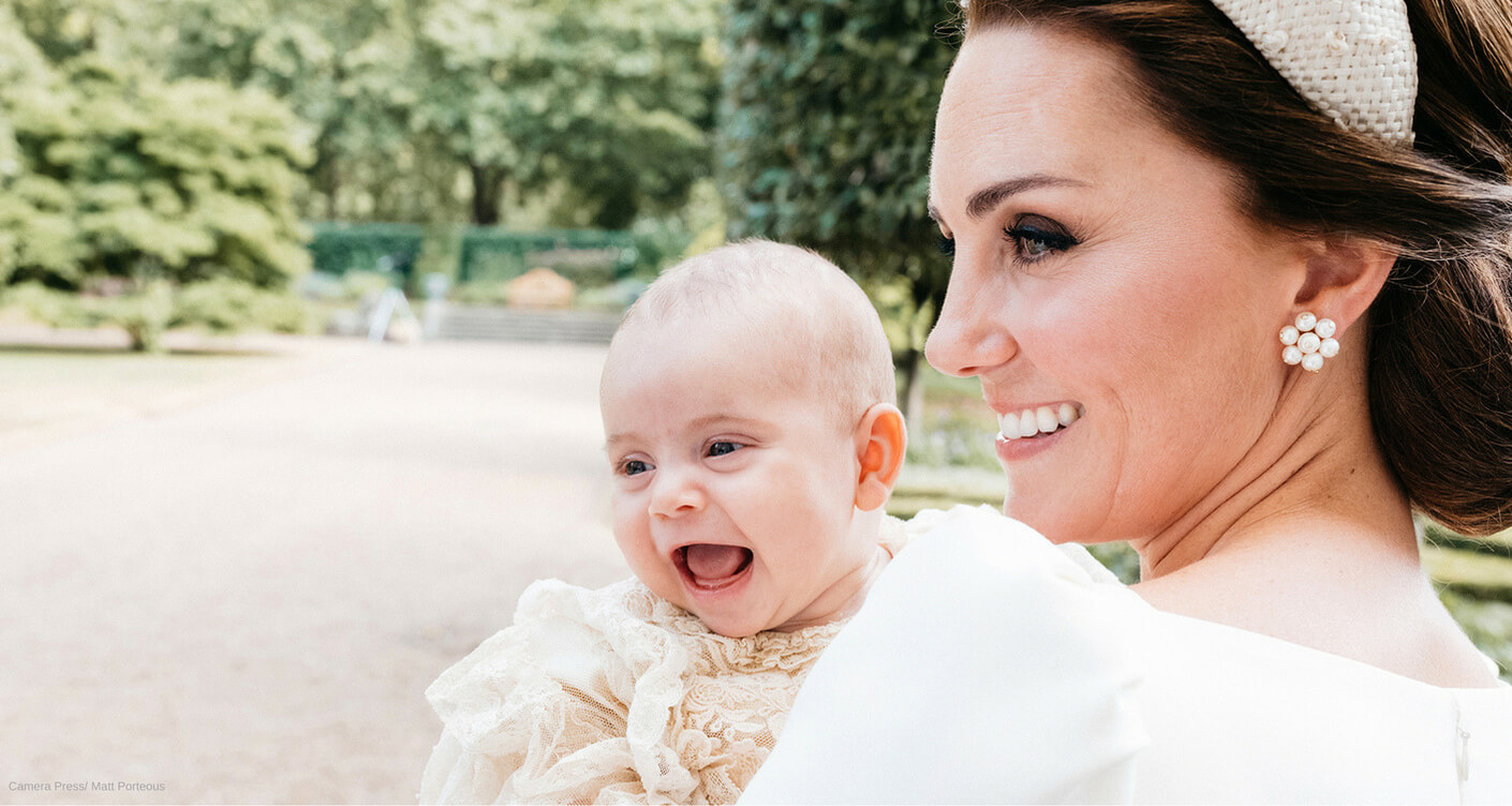 The christening of Prince Louis and christening gown ideas