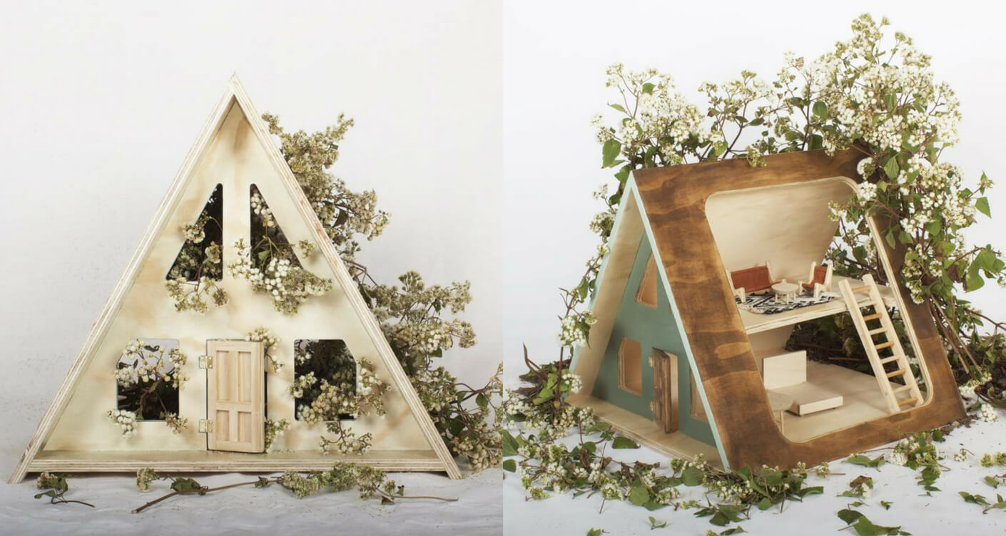 Product of the month: The A-Frame dolls house from Such Great ...