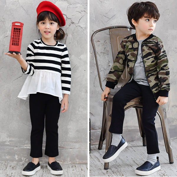 Bee Japanese kids popular fashion brand skinny jeans
