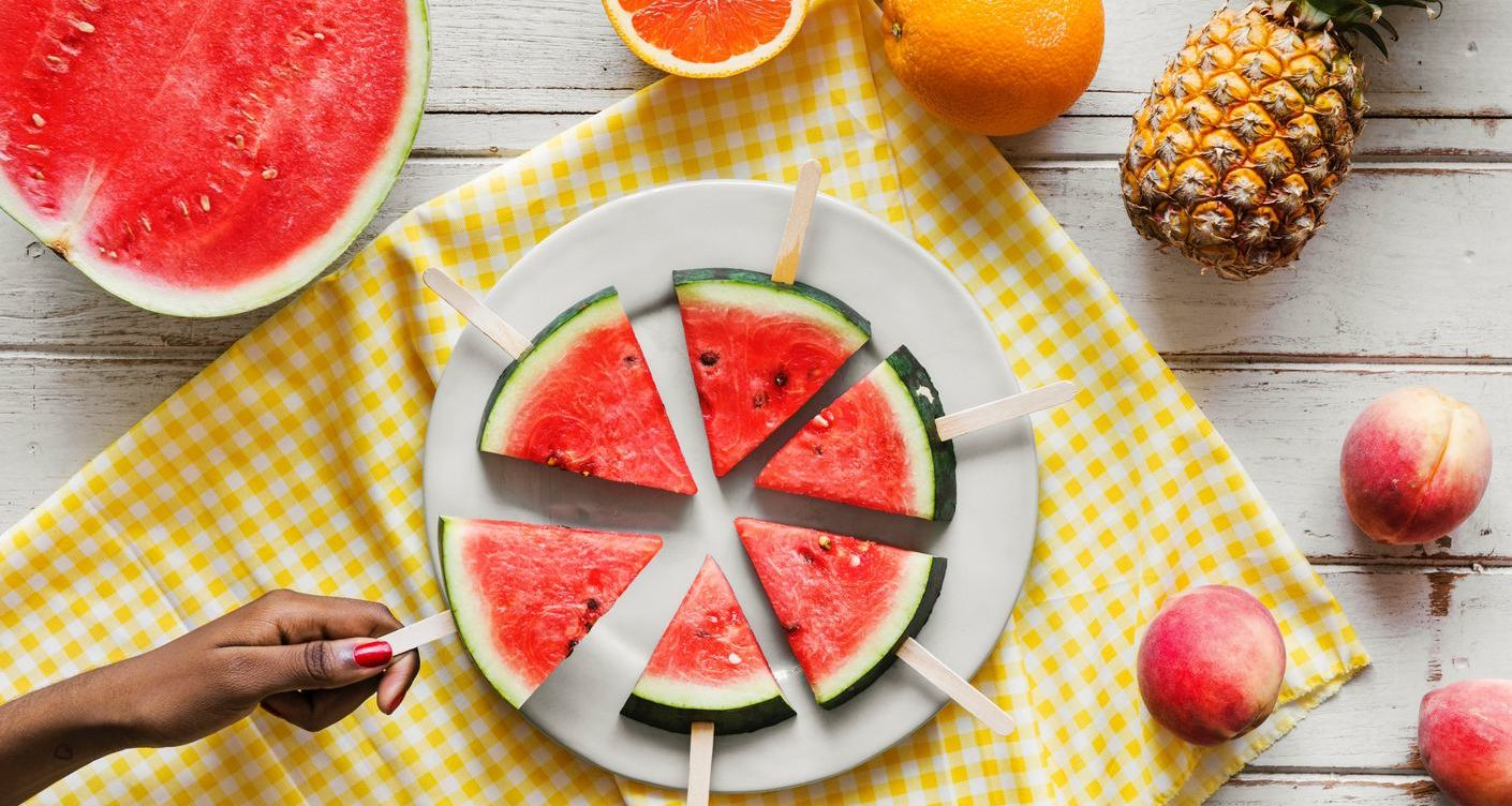 Best healthy snack: Watermelon Pizza