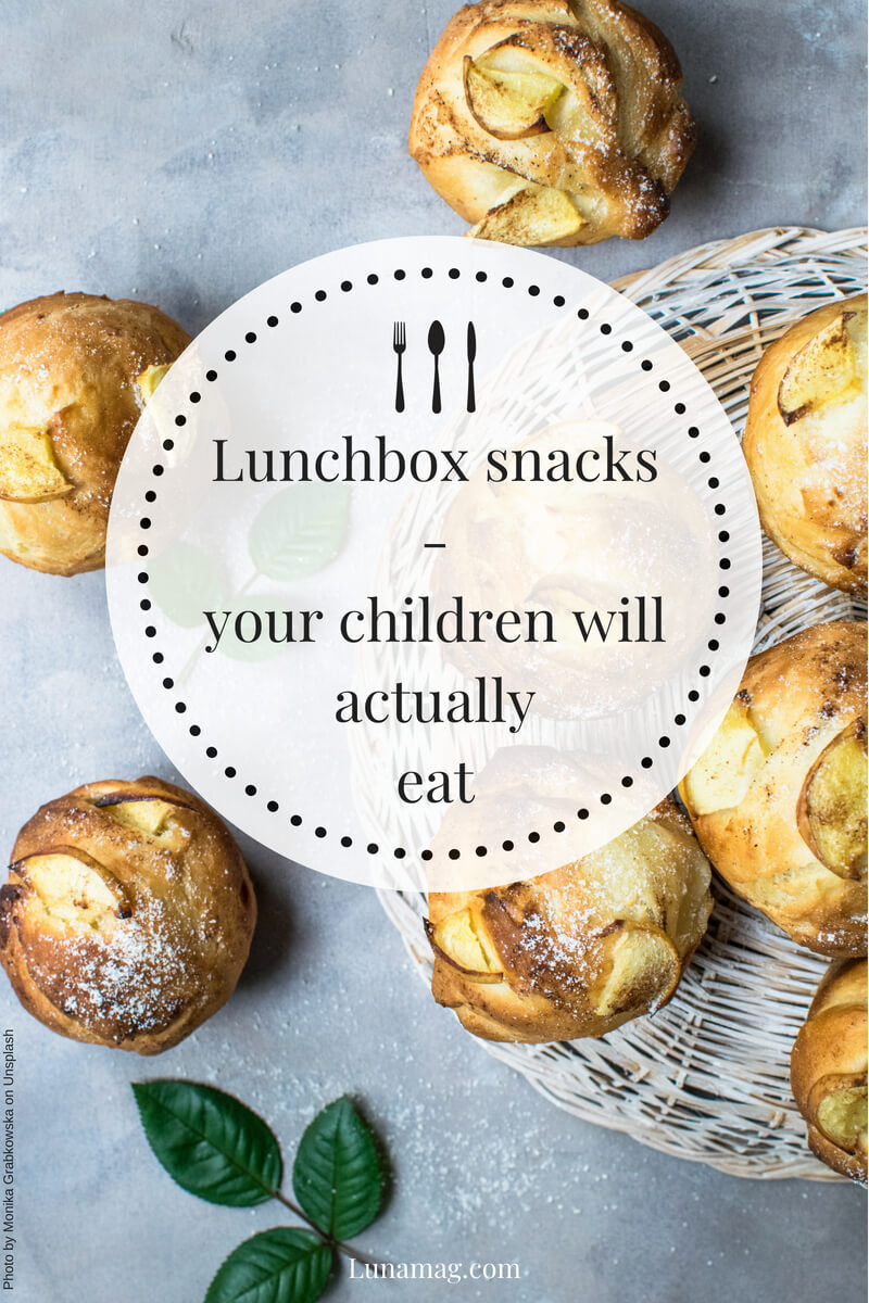 Lunchbox snacks that your children will actually eat