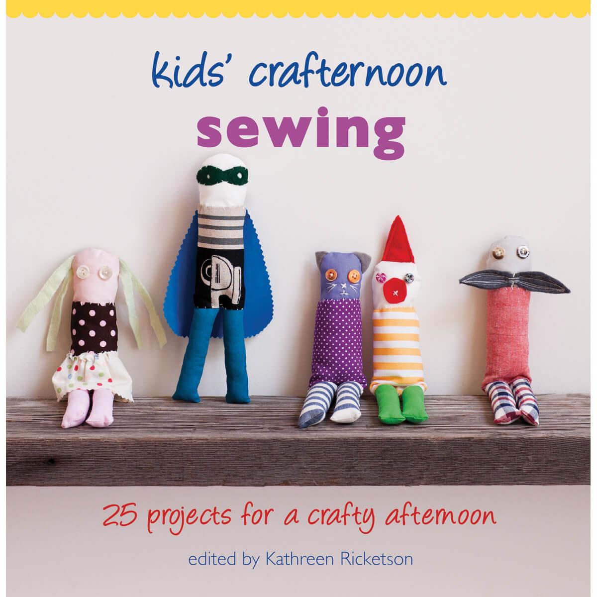 kids crafternoon sewing