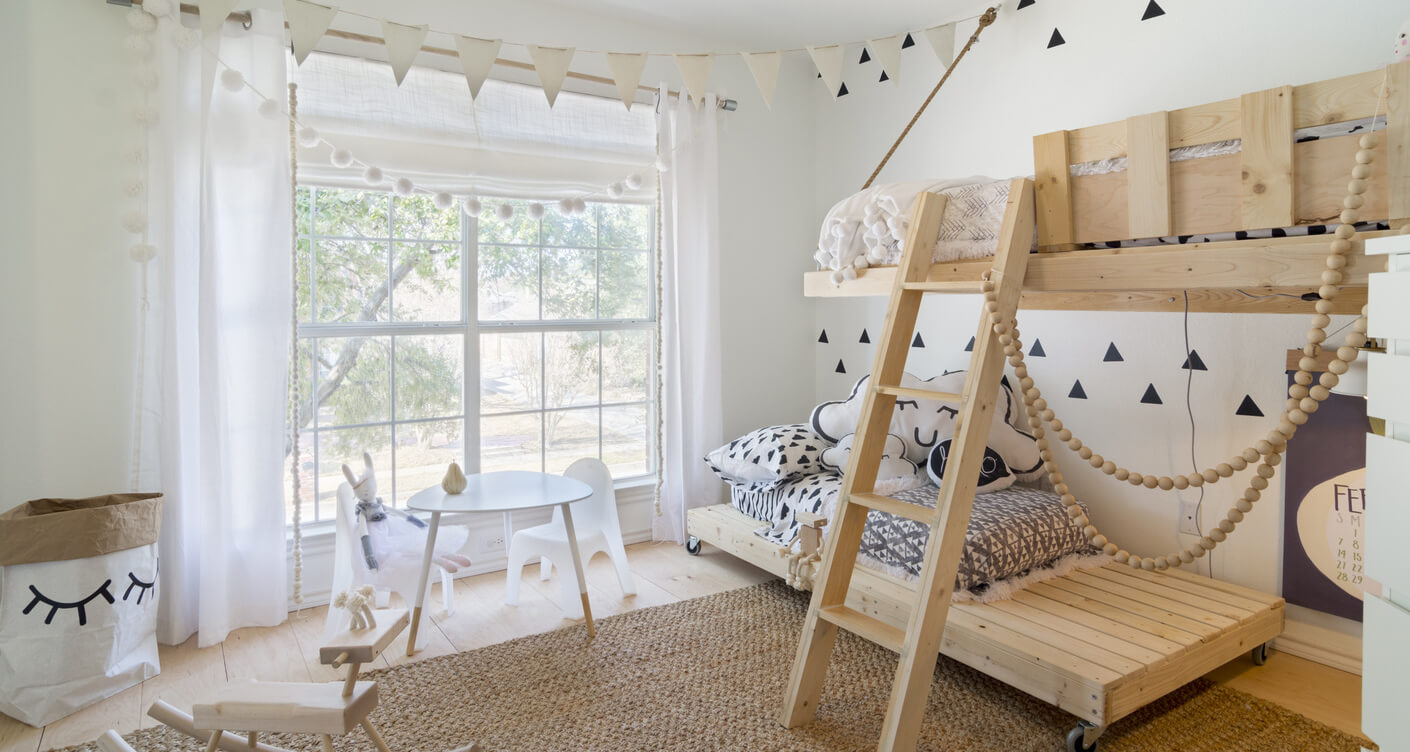 Lunamag.com: 5 great ideas for unique and natural children's rooms