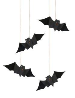 hanging bats halloween meri meri