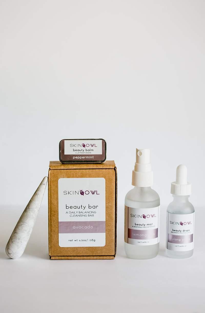 skin owl teen kit