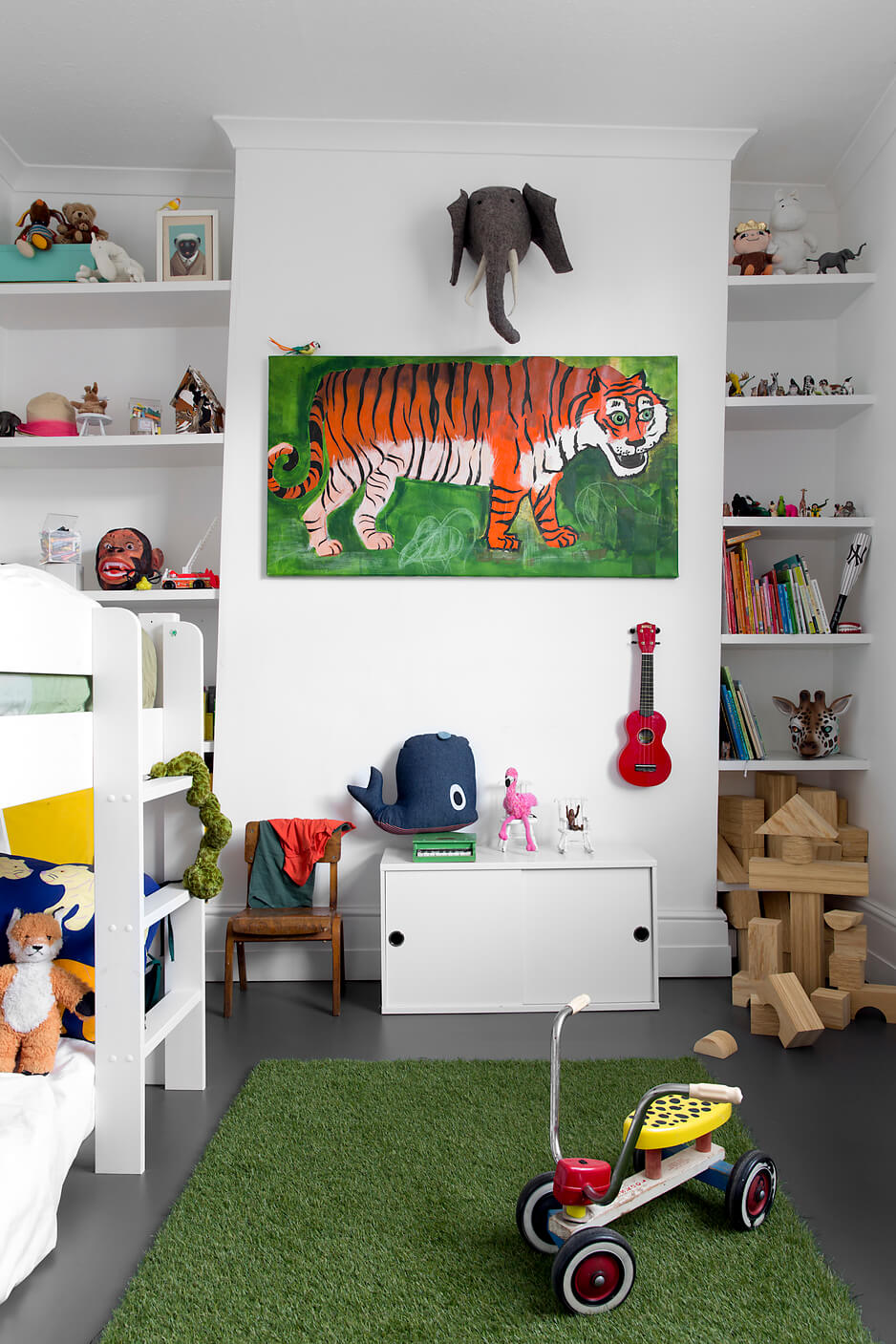 shared children's bedroom