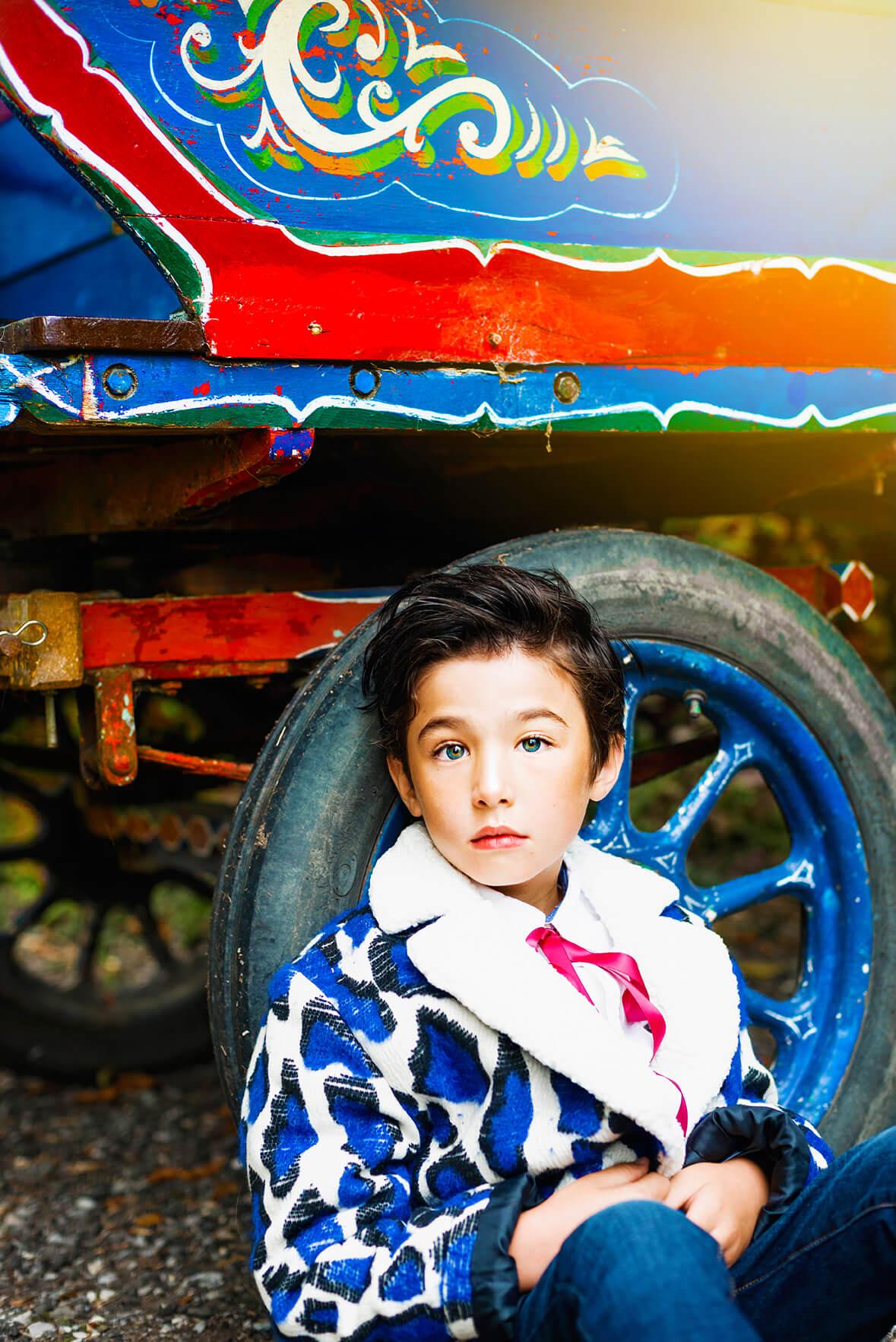 Lunamag.com kids fashion editorial Wandering Stars
