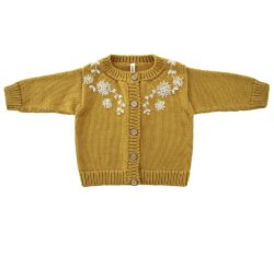 embroidered baby cardigan kn