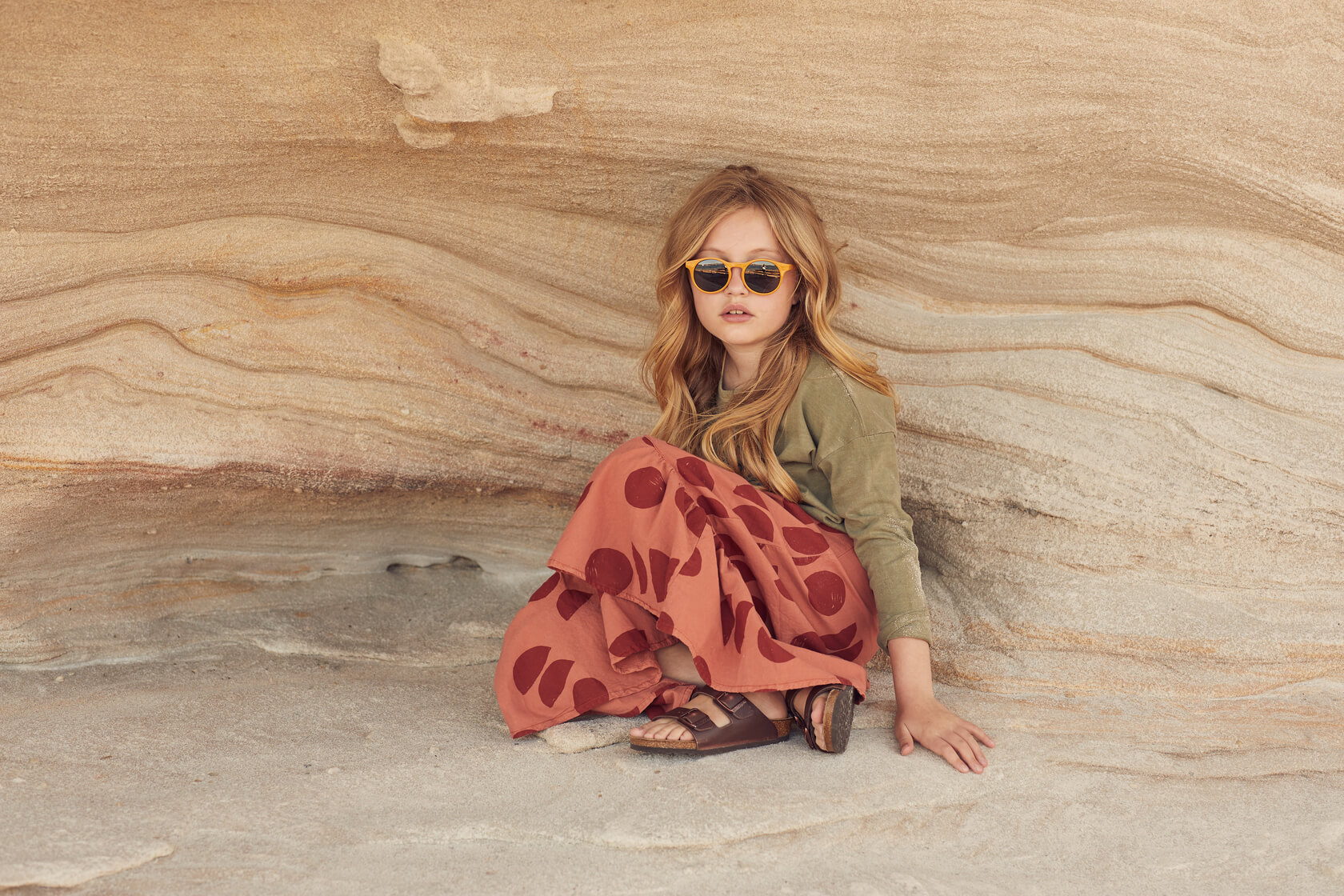 goose and dust kids fashion editorial
