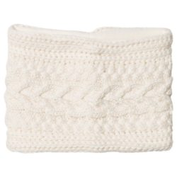 knitted loop scarf for kids