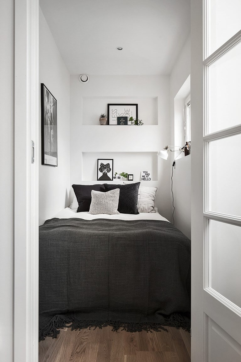 monochrome small room ideasmonochrome small room ideas