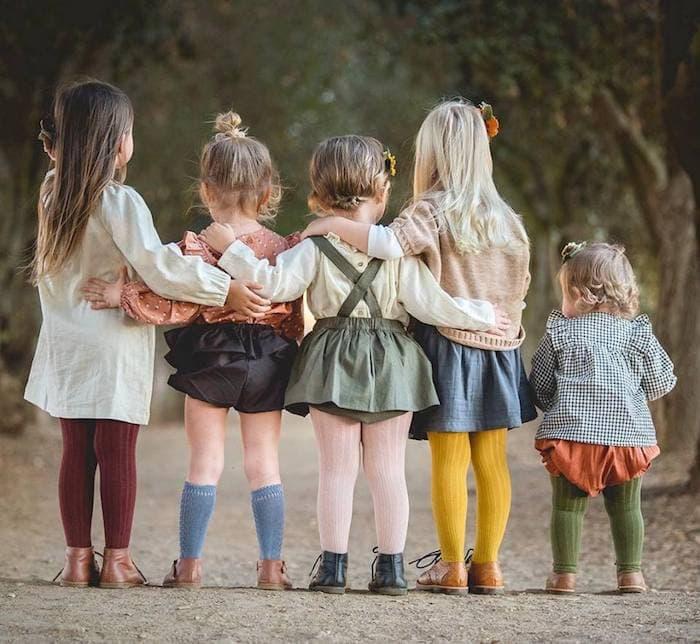 Spanish classic children's fashion brands
