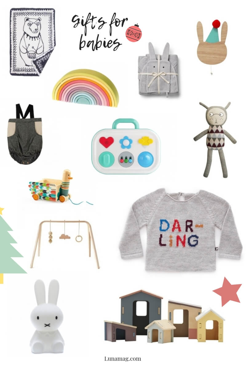 Gift Guides 2018 - babies