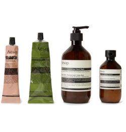aesop grooming kit