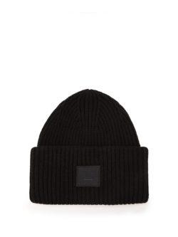 black acne hat