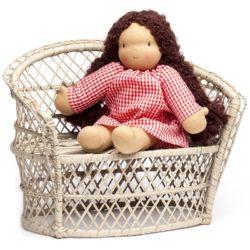 dolls wicker chair